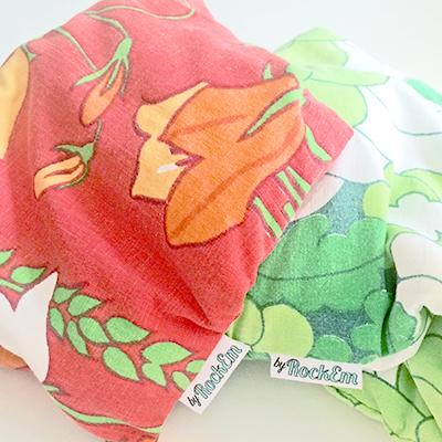 by-rockem-vetekudde-röd-grön-vintage-2