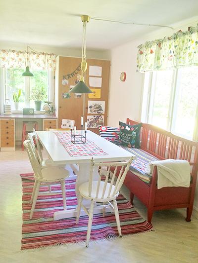 kök-efter-målning-matbord